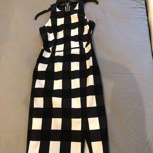 BR sheath midi dress